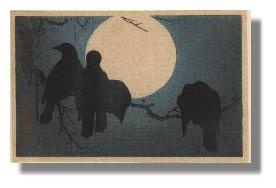 Four Crows and the Moon